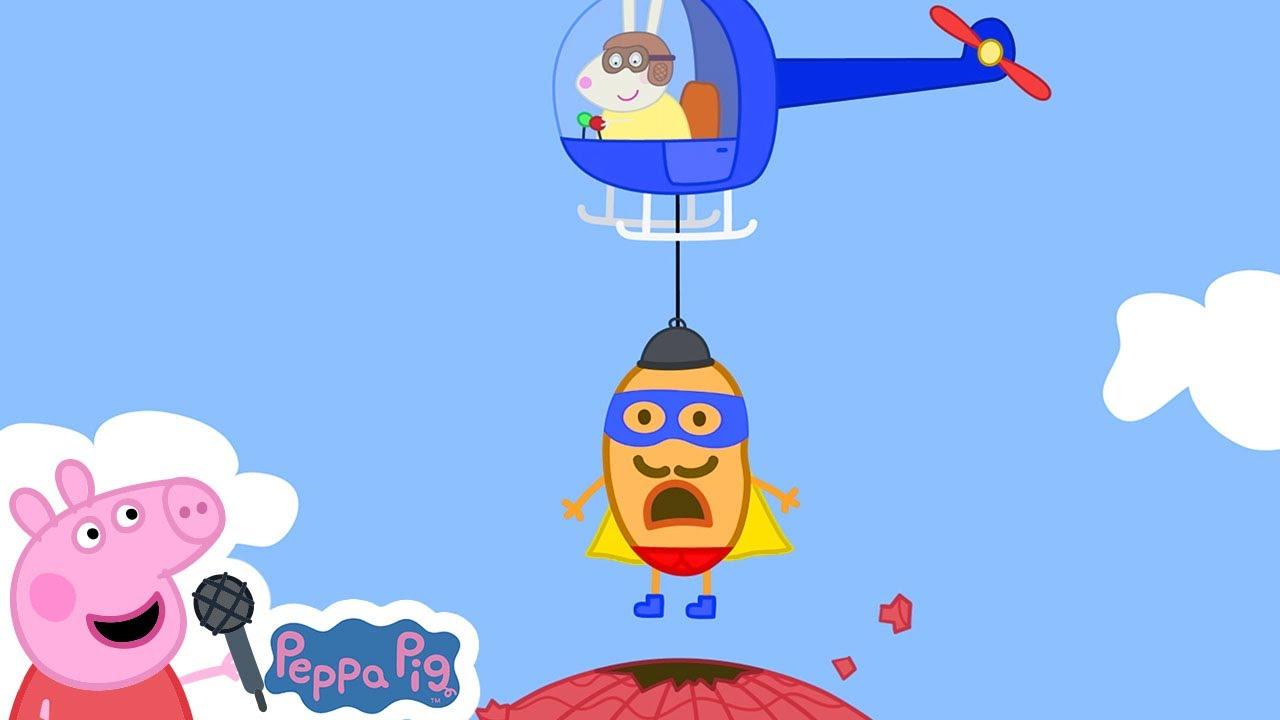 Super Potato Theme | Peppa Pig Songs | Peppa Pig Nursery Rhymes & Kids Songs