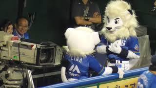 野田昇吾投手の登場曲に振付したけど「お帰りください」