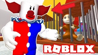 ESCAPE THE CRAZY CIRCUS CLOWN IN ROBLOX!