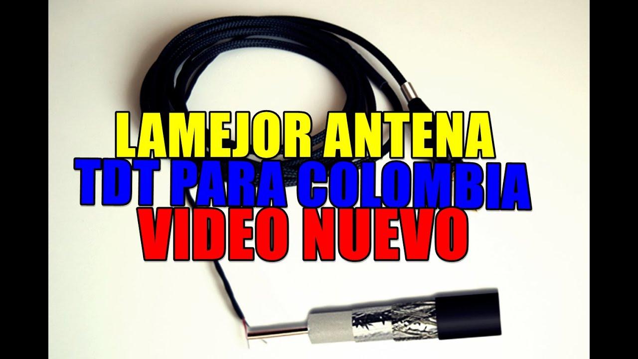 Antena tdt casera para colombia video nuevo 2016 youtube - Antena tdt interior casera ...