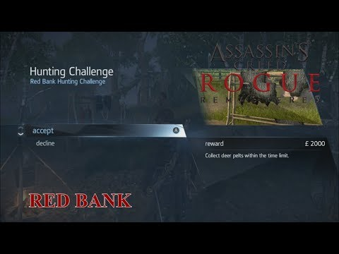 Assassin's Creed Rogue Remastered: Red Bank Hunting Challenge (PORTUGUÊS)