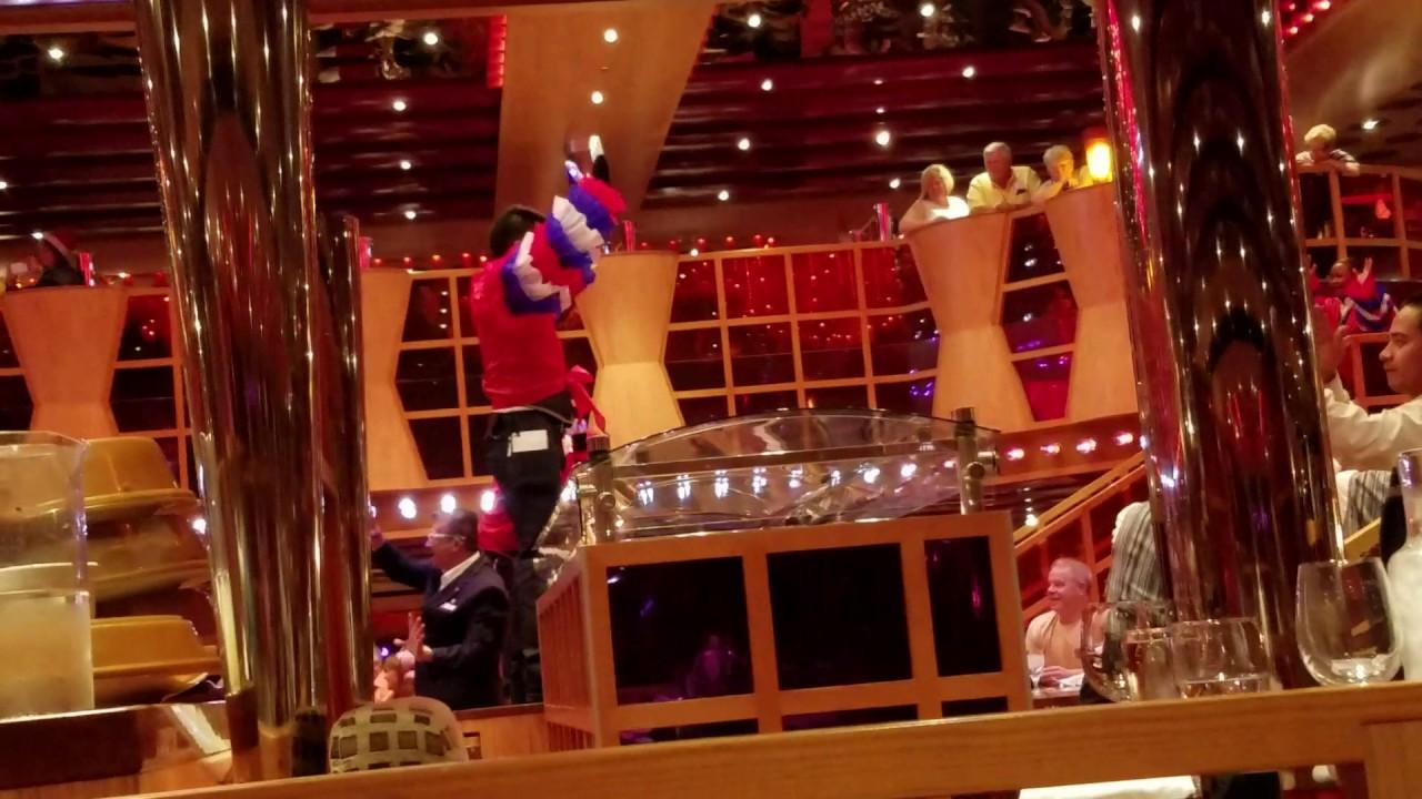 crimson dining room carnival dream 12 2016 youtube rh youtube com Carnival Dream Grand Suite Layout Carnival Dream Flooding