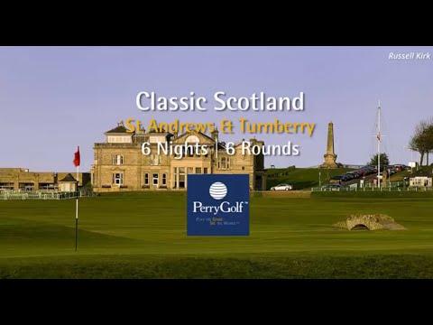 Classic Scotland Golf Vacation - PerryGolf.com