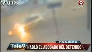 Picada de Haedo: El video de la tragedia