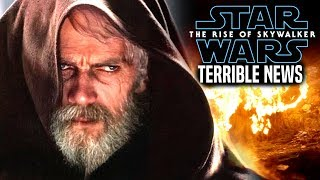 The Rise Of Skywalker Terrible News Revealed & More! (Star Wars Episode 9)