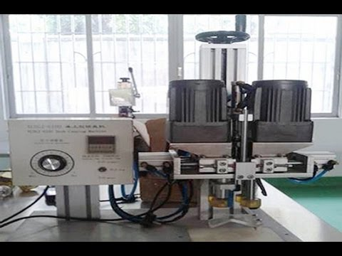 Semi automatic bottle screw capping machine for various shapes lids semi automatic spray capper