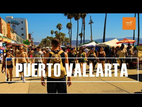 PUERTO VALLARTA Mexico - Beaches, Food Tour, Downtown, Night