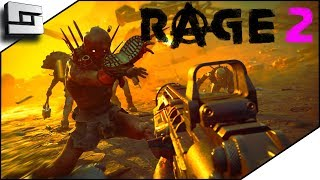 Fighting Sentry Towers In Rage 2 Is Awesome! Part 2