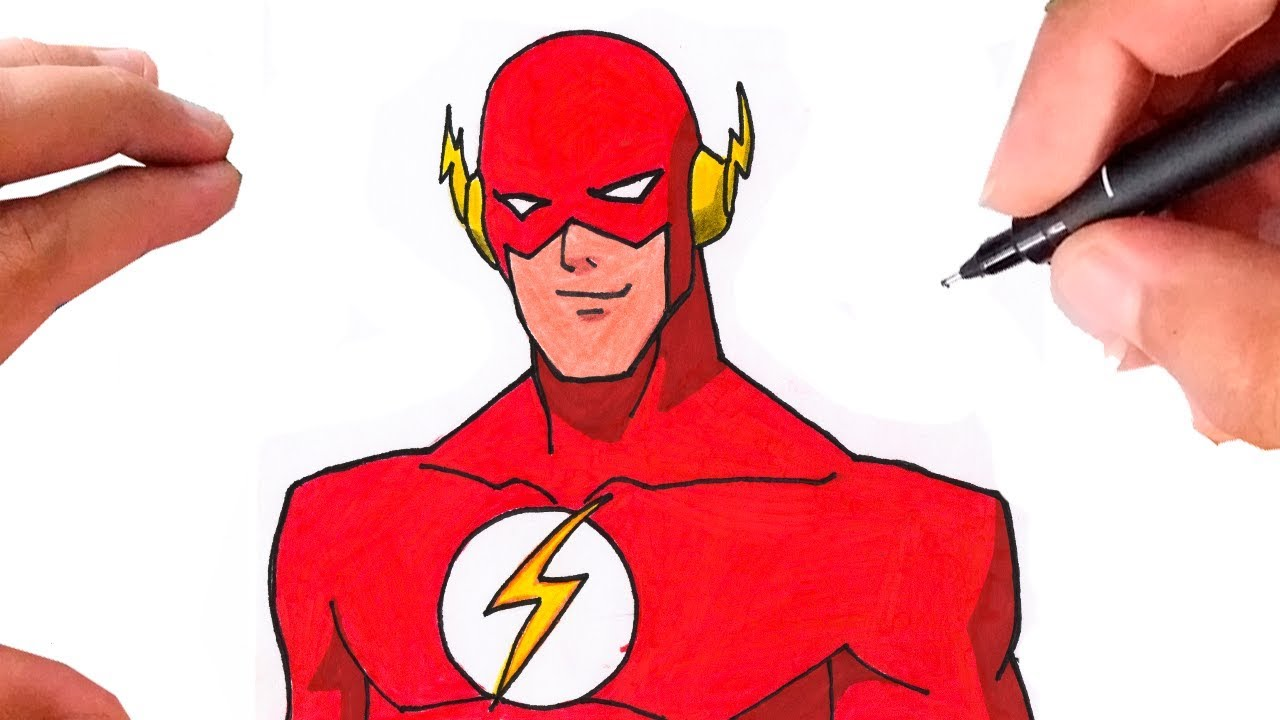 Como Desenhar Flash How To Draw The Flash Youtube
