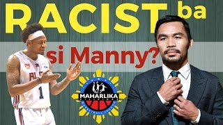 Manny Pacquiao - Racist ba sa MPBL Fil Foreigner Rule?