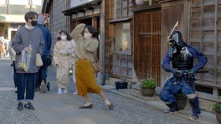 サムライマネキンドッキリ/SAMURAI Mannequin Prank in Japan