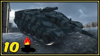 AMX 50 Foch B - 10 Kills - World of Tanks Gameplay