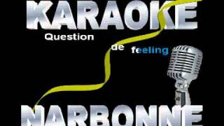 Richard Cocciante et Fabienne Thibeault      question de feeling karaoke