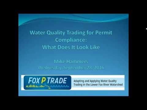 Water Quality Trading for Permit Compliance in Wisconsin  -  What Does It Look Like