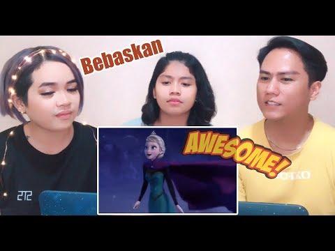 Aki Reacts || Let It Go [Frozen] - Malaysian Version