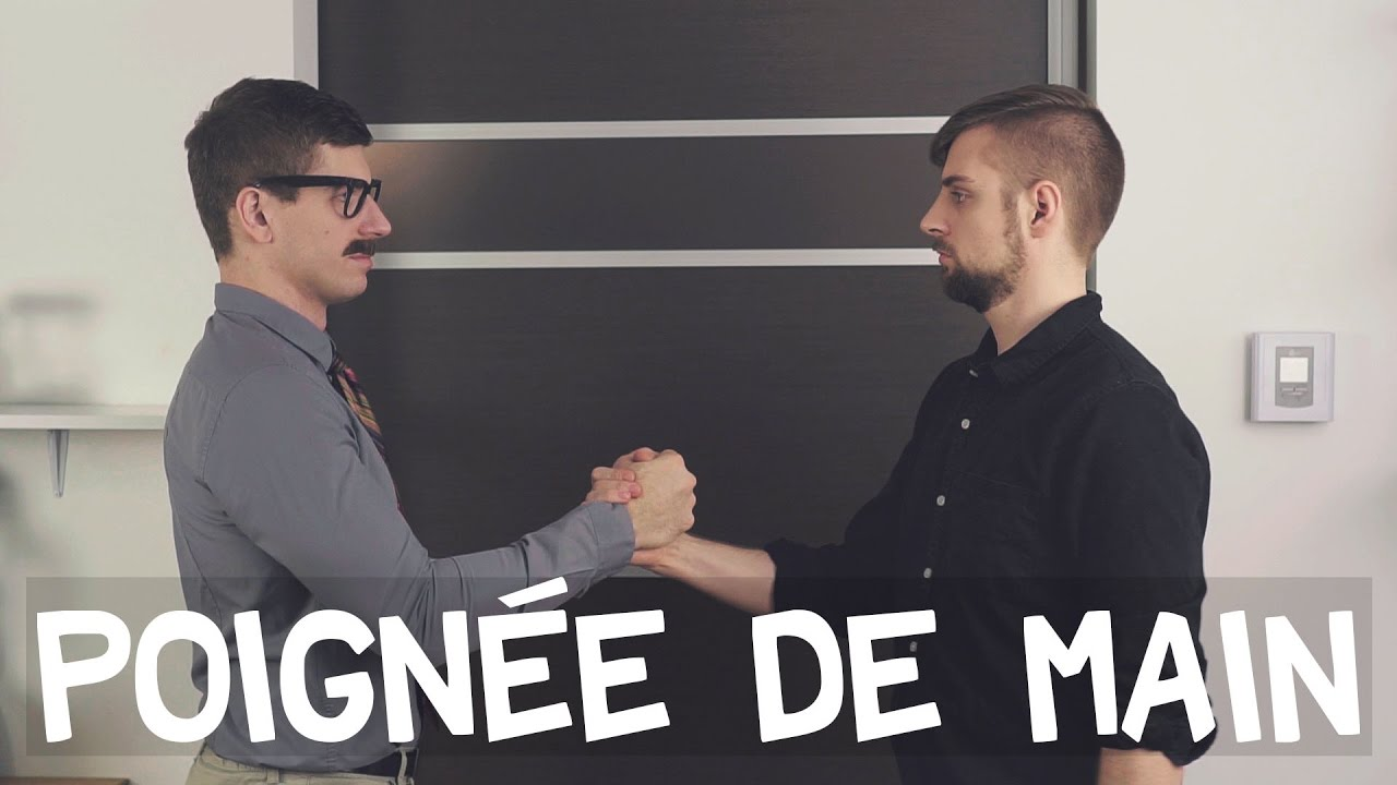 L art de la poignée de main malaises de bureau youtube