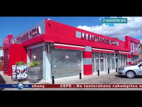 VAOVAO DU 27 AOUT 2018 BY TV PLUS MADAGASCAR