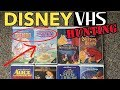 Disney VHS Hunting #3 - Amazing Flea Market Pickups and Surprise Rare Finds!
