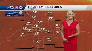 Heat advisory issued Saturday