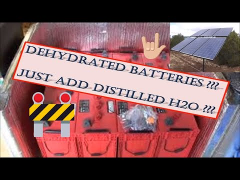 How to Maintain Solar Batteries, Deep Cycle Batteries