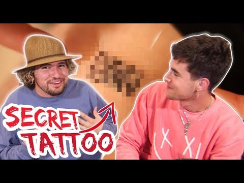 REVEALING KIANS SECRET TATTOO!!