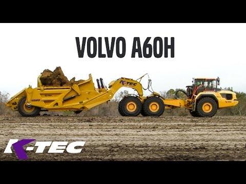 New Volvo 60-Ton K-Tec Scraper Hauler