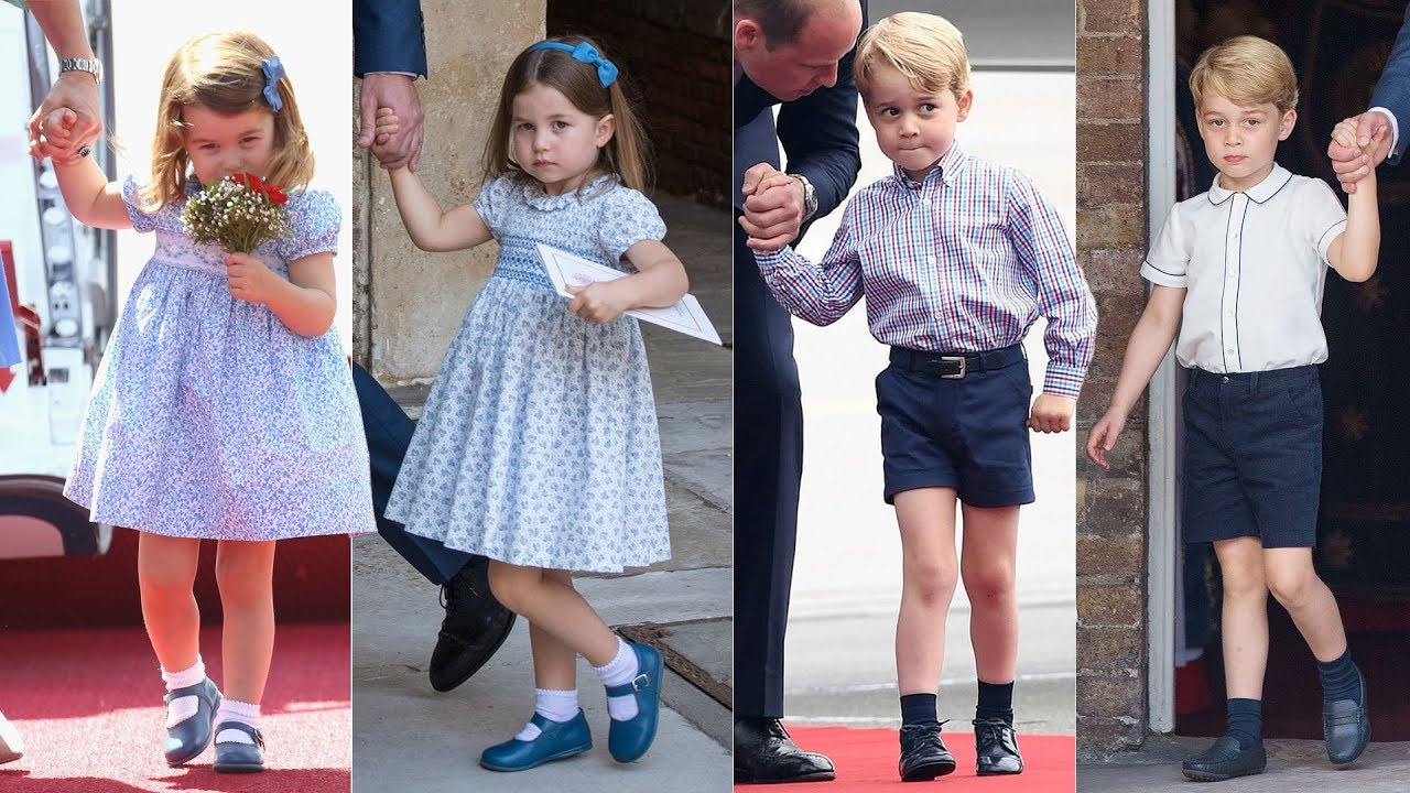 f22890969 Why do Prince George & Princess Charlotte always wear 'old fashioned'  clothes