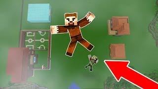 BEBEK FAKİR VE RÜZGAR AŞŞAĞIYA ATLIYOR! 😱 - Minecraft