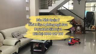 Bán Nhà Khu Dân Cư Phú Mỹ Quận 7 Giá Tốt ☎️ 0909 227 199