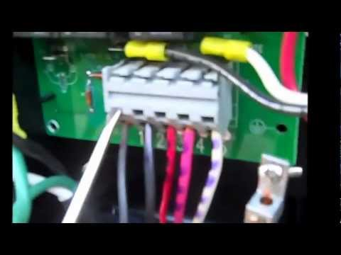 50 Amp Service Wiring Diagram Replacing A Hot Spring Spa Heater Relay Board Youtube
