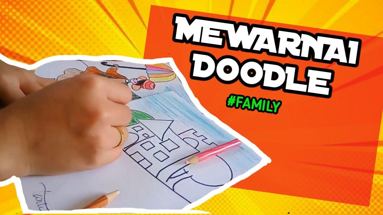Mewarnai Gambar Doodle