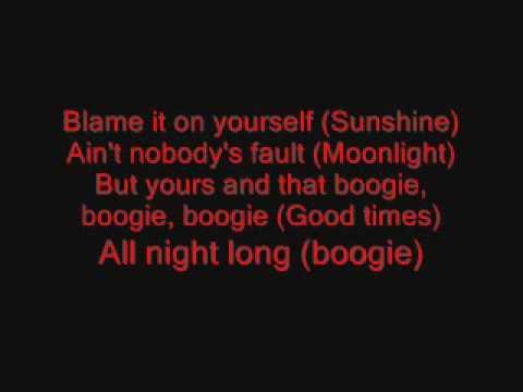 The Jacksons (Blame it on the boogie) lyrics