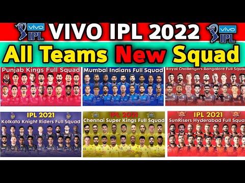 Vivo IPL 2021 All Teams Final Squad   IPL 2021 All Teams Full Squad   IPL All Teams Confirmed Squad