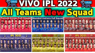 Vivo IPL 2021 All Teams Final Squad | IPL 2021 All Teams Full Squad | IPL All Teams Confirmed Squad