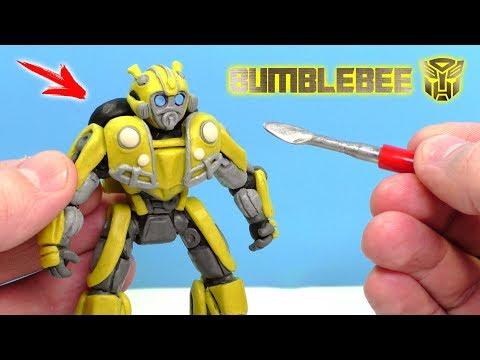 Как делать из пластилина робота