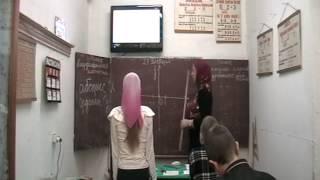 Урок математики в сельской школе 1 часть