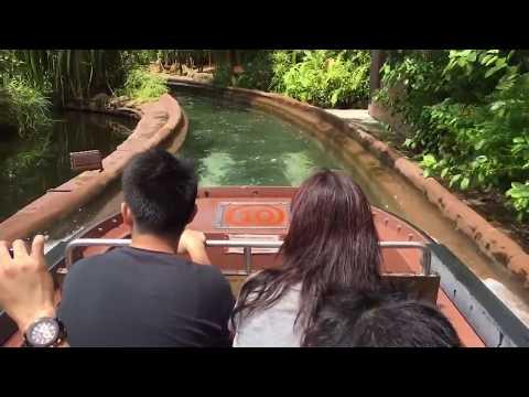 1 day trip at Singapore River Safari on Amazon River Quest boat rides.