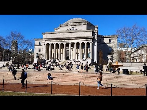 Columbia University, Morningside Heights neighborhood of Upper Manhattan, New York City
