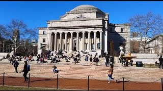 Columbia University, Morningside Heights neighborhood of Upper Manhattan, New York City