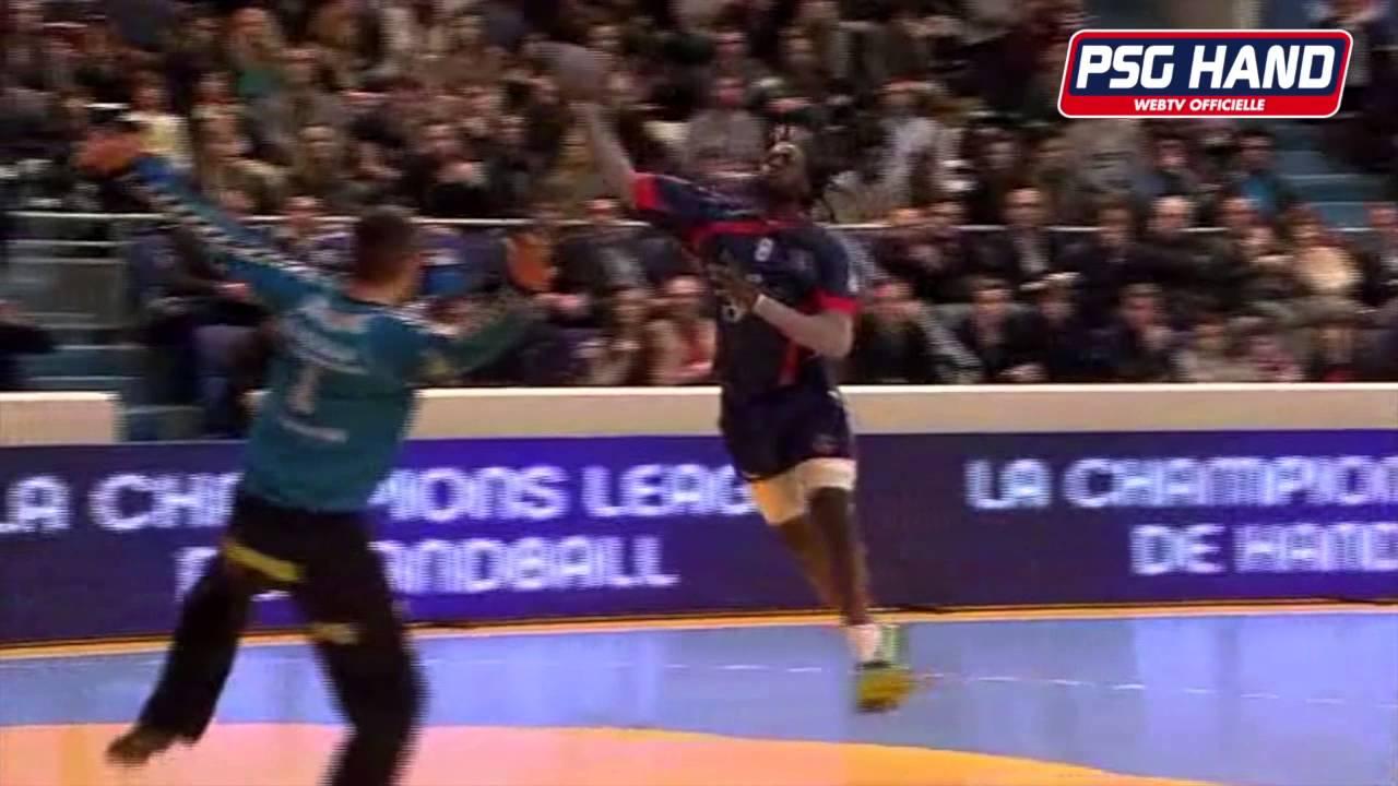 r u00e9sum u00e9 du match psg handball - saint rapha u00ebl