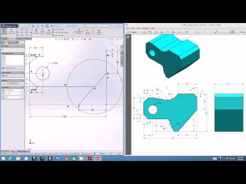 EGN 3433C: SolidWorks CSWA Tutorial - Part Modeling I