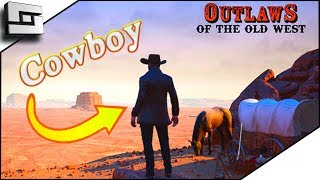 Epic Buffalo And Building In Outlaws Of The Old West Game!