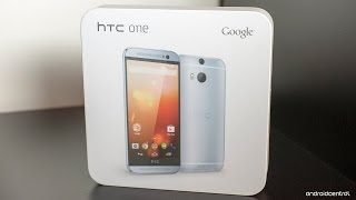HTC One M8 Google Play edition unboxing and hands-on