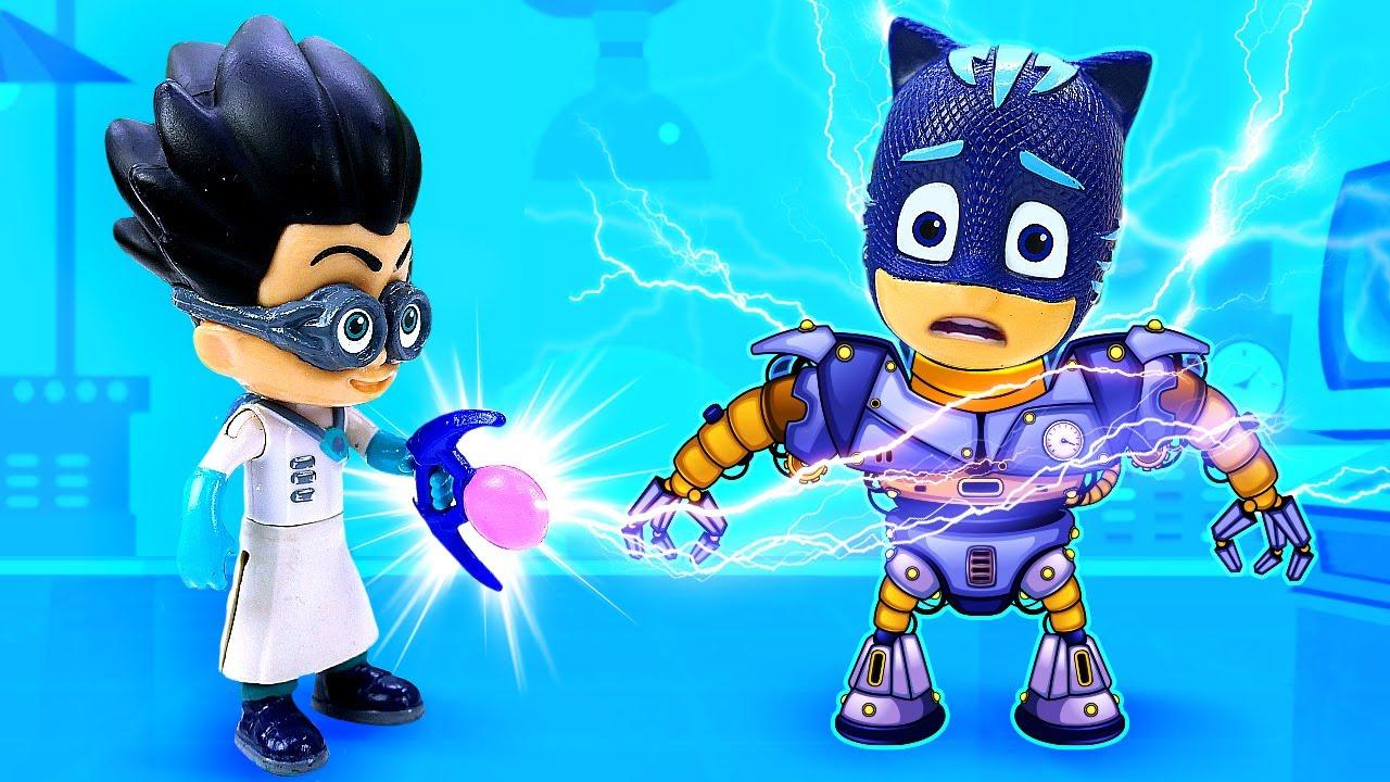 Сказки для детей онлайн -  Герои в масках против Ромэо - Машины сказки на ночь