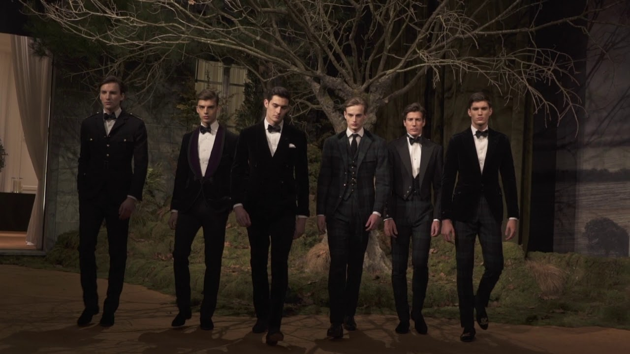 37a73ac372ce3 RALPH LAUREN | Purple Label Fall 2018 Collection - YouTube