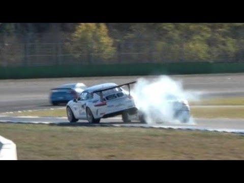 Porsche Sports Cup Finale 2018 - Hockenheim - Crash's, good Racing und Pure Flat 6 Sound!