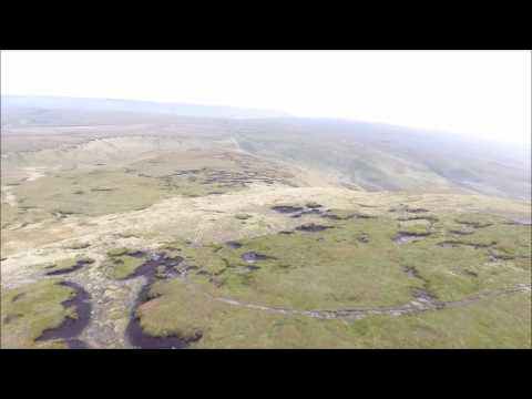 Drone Footage   Charlesworth, Peak District, UK