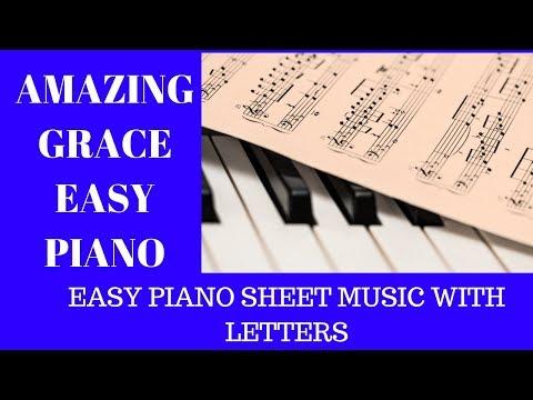 Amazing Grace Piano WITHOUT Reading Music Free