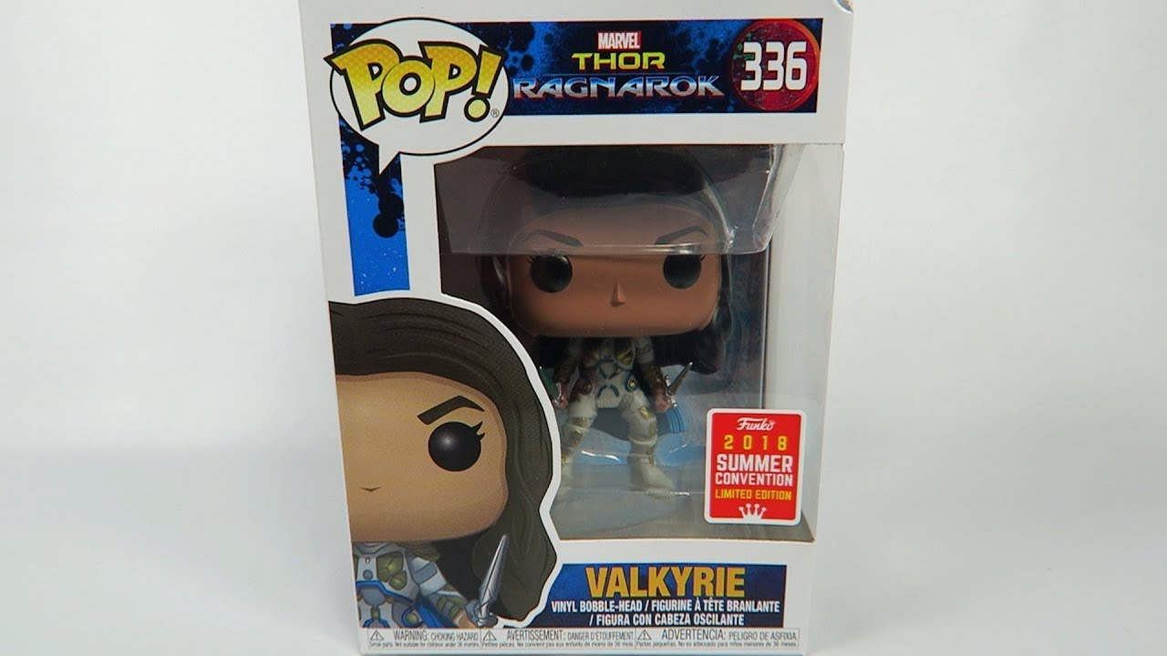 Summer Convention Limited Edition Funko Pop Vinyl Thor Ragnarok Valkyrie Unboxing Youtube