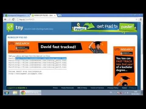 Cara Download dengan IDWS